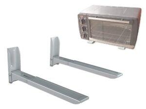 wandhalterung mikrowelle mikrowellenhalterung k chen microwelle wandhalter h74s ebay. Black Bedroom Furniture Sets. Home Design Ideas