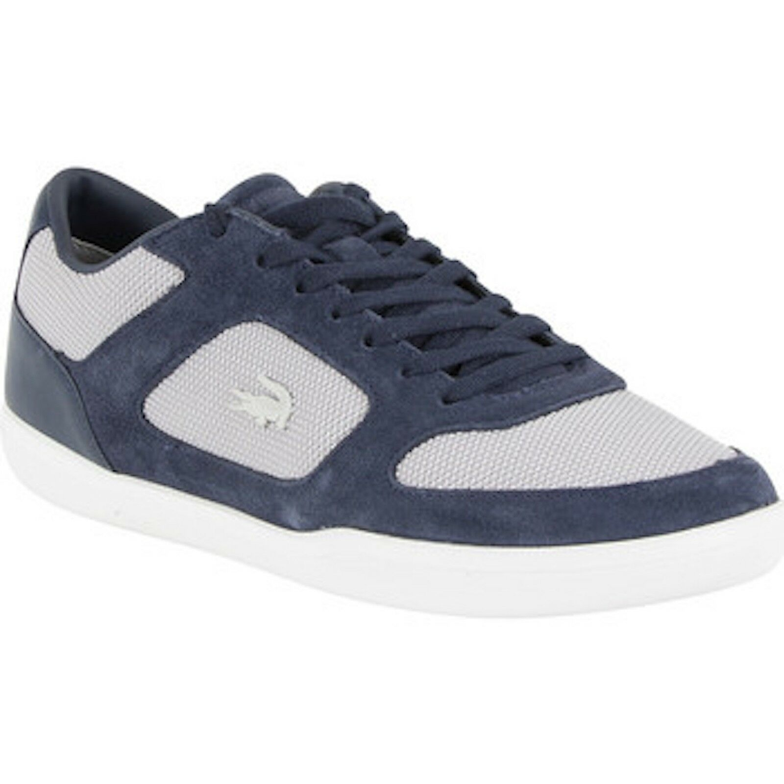 BNWB LACOSTE HOMME COURT-Minimal 3161 Cuir/Daim Baskets Taille UK 8 RRP £ 100