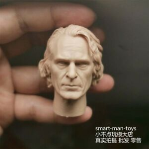 Painted Joker Joaquin Phoenix Head Sculpt 1//6 Scale Fit 12/'/' Action Figure Model