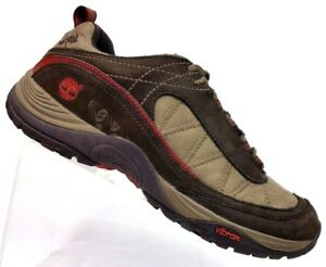 best service 8acf4 68d87 leren 9 Timberland M gewatteerde bruin wandelpadschoenen Dames suede 56663  qEaS6wap0