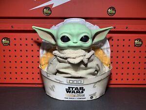 BABY-YODA-PLUSH-The-Child-Mandalorian-Star-Wars-Mattel
