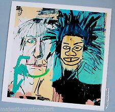 JEAN-MICHEL BASQUIAT ANDY WARHOL 1982 PORTRAITS GICLEE LITHOGRAPH POSTER MINT