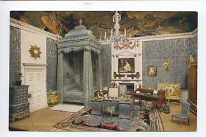 Aq55 Tuck Oilette Queens Dolls House Queens Bedroom C1910
