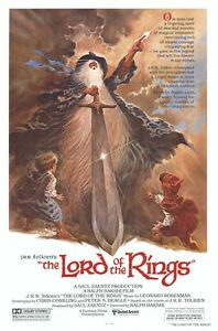 LORD-OF-THE-RINGS-MOVIE-POSTER-ANIMATED-1978-27x40-Ralph-Bakshi