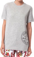 Converse Women Gray Sweatshirts Short Sleeve Tunic Size M Msrp 50$