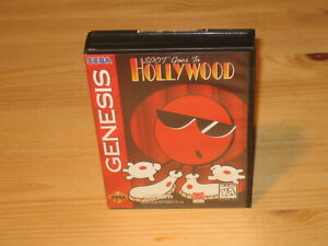 Spot-Goes-to-Hollywood-Sega-Genesis-Case-Box-amp-Cover-Art-Only-NO-GAME-CARTRIDGE