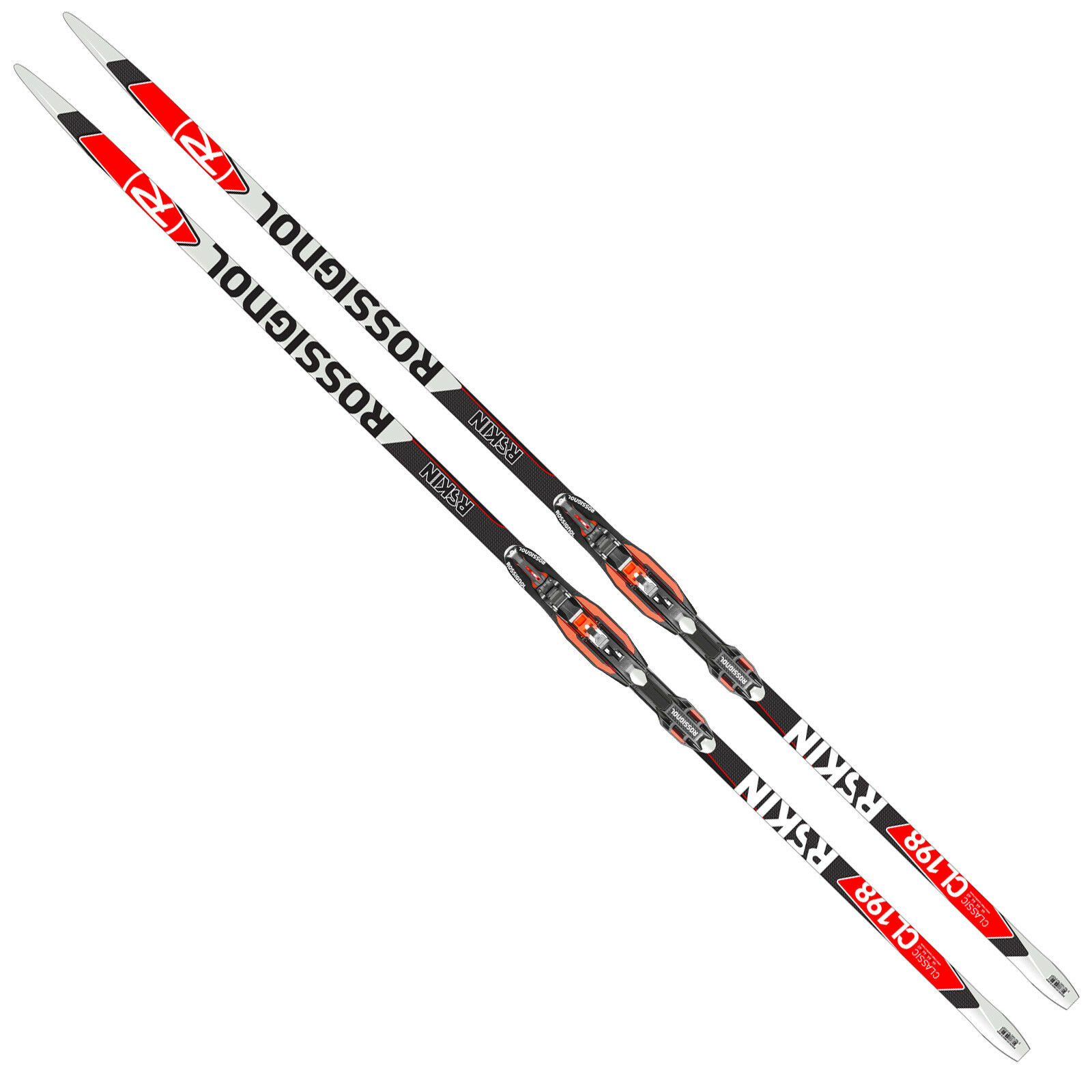 Rossignol R-Skin IFP Unisex-Langlaufski inklusive Race Classic Bindung Ski-Set