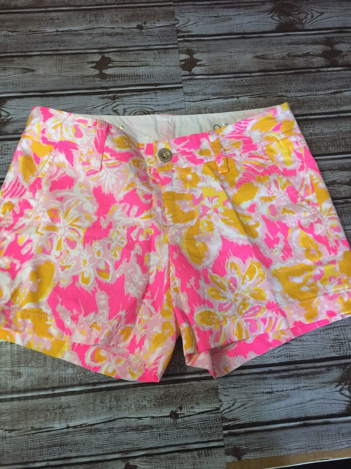 Lilly Pulitzer The Callahan Shorts Size 0  Inseam 5 Summer NWOT