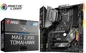 MSI-MAG-Z390-TOMAHAWK-Motherboard-Intel-Socket-1151-Intel-Z390-Chipset