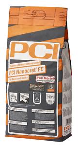 PCI Nanocret FC 5 kg Faserverstärkter Beton-Spachtel für Wand und Decke