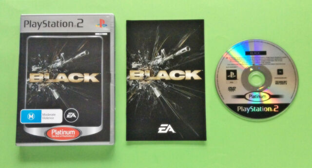 Black Platinum - Sony Playstation 2 - See My Ebay Store For More Games