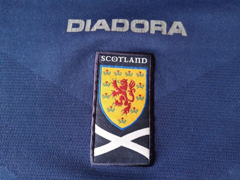 Fodboldtrøje, Skotland 2007/2008, Diadora
