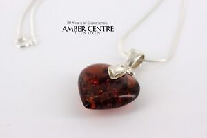 German-Baltic-Amber-Heart-Pendant-with-925-Sterling-Silver-Loop-PD079-RRP-75