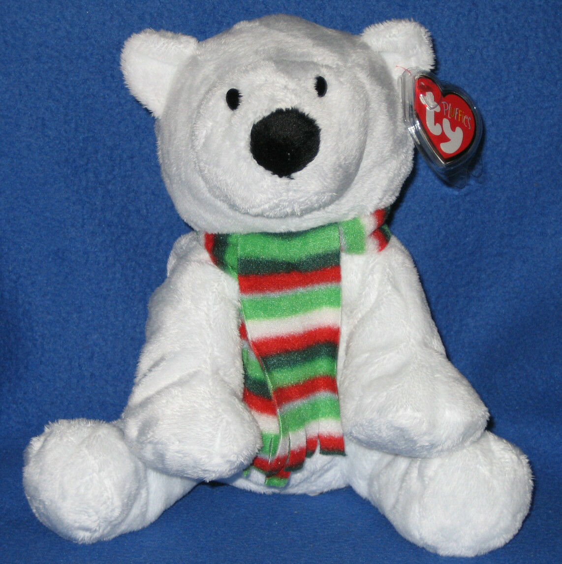 ALPS THE POLAR BEAR - TY PLUFFIES - MINT with MINT TAGS