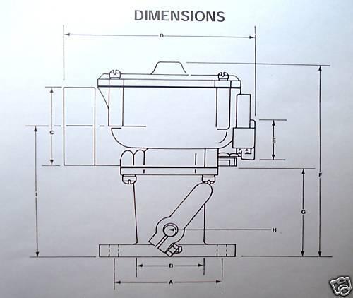 IMPCO LPG PROPANE CARBURETOR MIXER CA100 CA100M-5