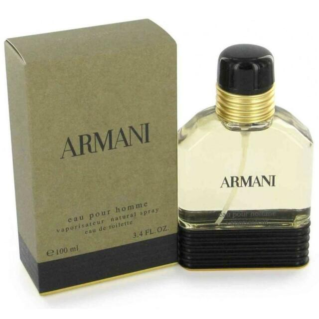 ARMANI POUR HOMME OLD EDITION - 100 ML 3.4 FL. OZ - EAU DE TOILETTE FOR MEN