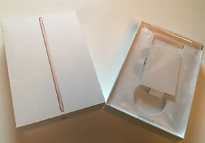 Empty-Box-Only-for-Ipad-7th-Generation-2019-32GB-Gold-With-Inserts-amp-stickers