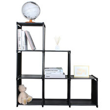 HOT 3-tier Storage Cube Closet Organizer Shelf 6-cube Cabinet Bookcase-SortWise™