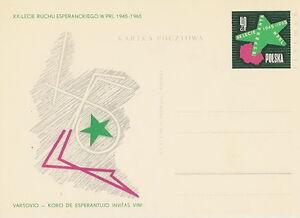 Poland prepaid postcard (Cp 295) esperanto - Bystra Slaska, Polska - Poland prepaid postcard (Cp 295) esperanto - Bystra Slaska, Polska