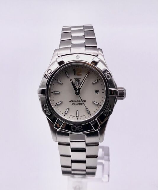 Tag Heuer Aquaracer WAF1414 Stainless Steel MOP Dial Quartz Watch