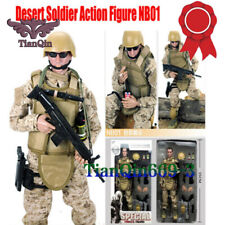 9mm Pistol 1//6 Scale Toy 75th Ranger Mad Mullen ACU Tac Belt Holster /& Pouches