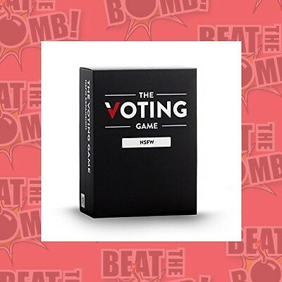 The Voting Game Nsfw Expansion  - BRAND NEW