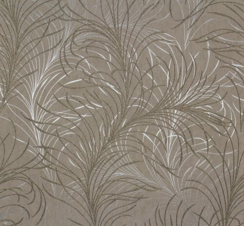 4,12€// Vliestapete Design Modern grau silber gold  Tapete Marburg Estelle 55717