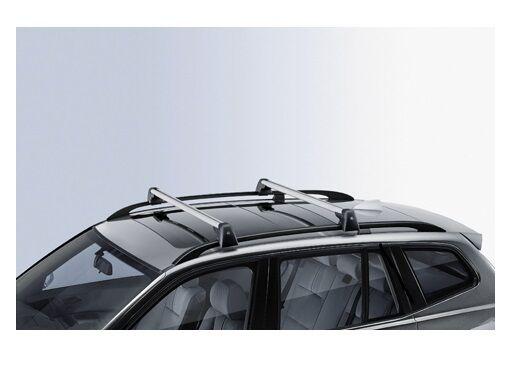 BARRE Portatutto Alluminio K39 Portabagagli Portapacchi BMW X3 E83 2004/>2010
