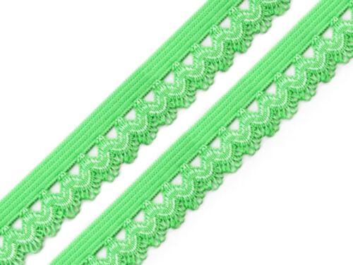 2m Rüschengummi 0,75€//m Einfassgummi Besatzgummi elastisch ver Farben 15mm nähe