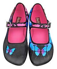 Hot Chocolate Design. Chocolaticas Dark Butterfly. US 5. Women shoes