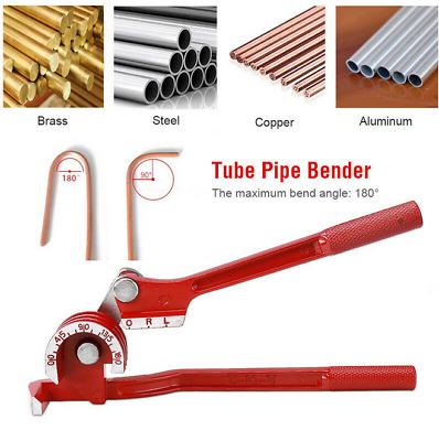 Tube Bender for Plumbing Gas Copper Tubing 6mm 8mm 10mm OD 24 Bend Radius