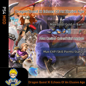 Dragon-Quest-XI-Echoes-of-an-Elusive-Age-PS4-Mod-Max-Gold-EXP-Skill-Points