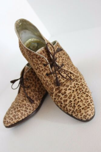 WOMEN'S Vintage BOTTEGA VENETA Leopard PONY HAIR L
