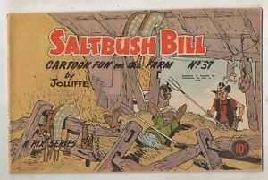 SALTBUSH-BILL-No-37-FINE-V-FINE-CONDITION-1950s-ORIGINAL-AUST-COMIC