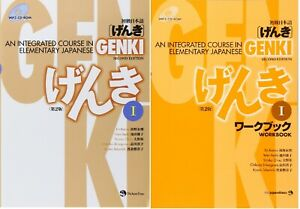 Genki 1 An Integrated Course In Elementary Japanese Textbook And Workbook Set Ebay