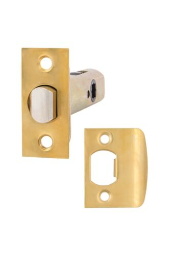 Heavy duty Passage//Privacy  Latch with solid brass face plate and strike plate.