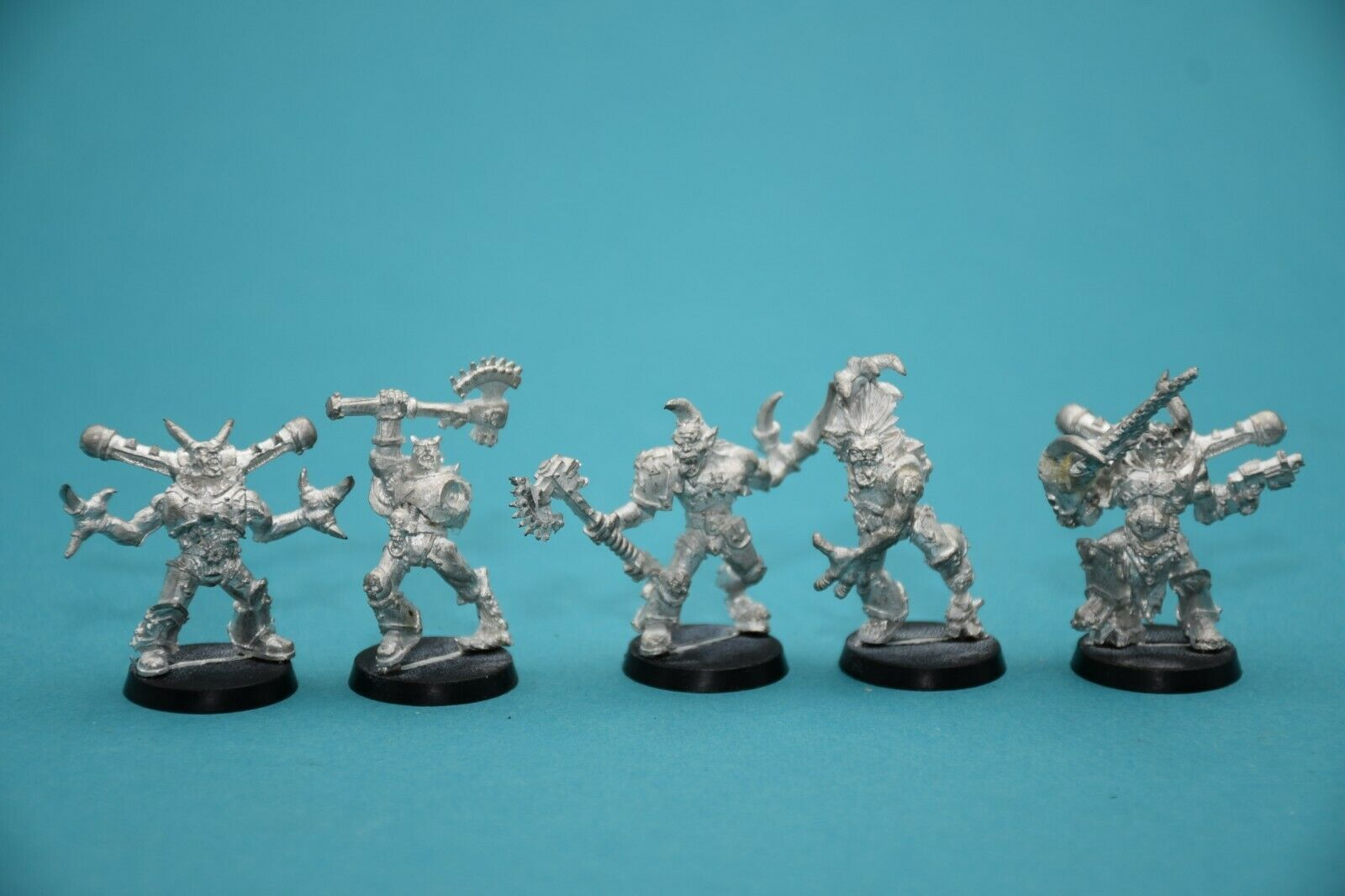 Warhammer  40k Chaos spazio Marine Possessed (5) MetalOOPRare Lot2  risposte rapide
