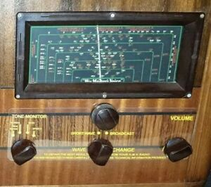 Clear-Control-panels-for-HMV-886-mantle-set-valve-radio-chassis-no-B2457
