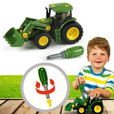 John Deere Traktor mit Frontlader und Gewicht – Spielzeug für Kinder   3903