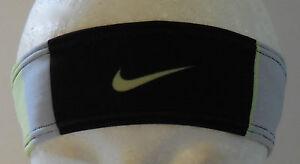 NIKE Unisex Wide Studio Graphic Headband Black Strata Grey Electric ... 3ec1f2d37f5