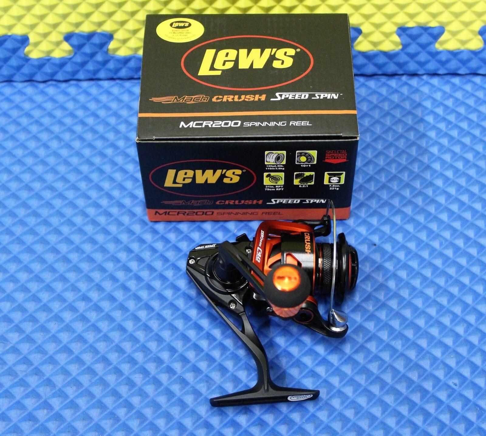 Lew's  Mach Crush Speed Spin Spinning Reel MCR200