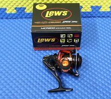 Lews Fishing MCR200 Mach Crush Speed Spinning Reel