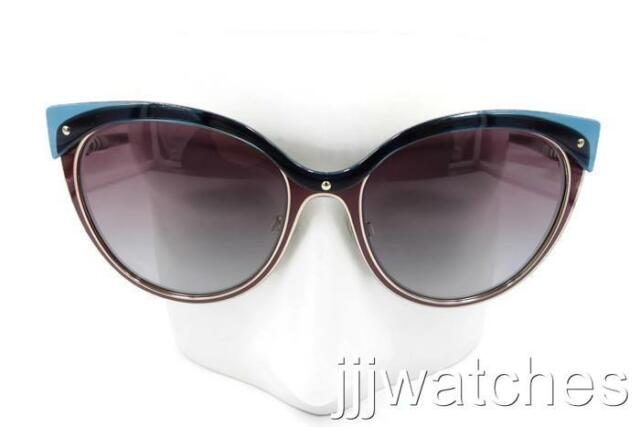 9b0fc1e0bc80 New Burberry Cat Eye Red Gradient Check Details Sunglasses BE3096 126590 55  $270