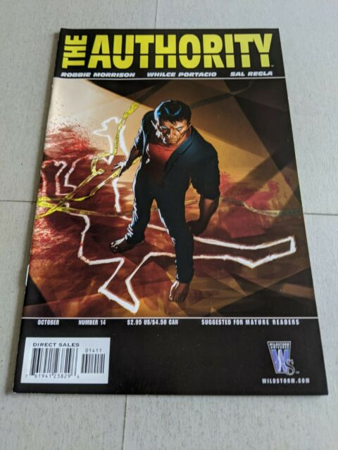 The Authority #14 October 2004 DC Wildstorm Comics