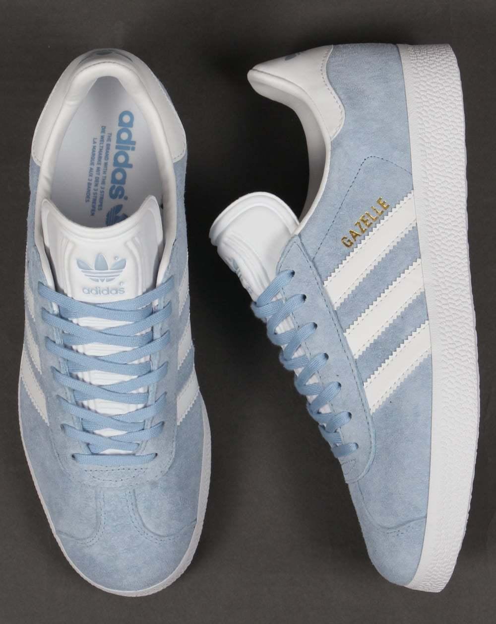 Adidas originale cielo gazzella 13 luce blu cielo originale bambino oro bianco zio argentina bb5481 d5e154