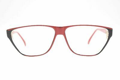 Atrio Vintage 190-805 58 [] 13 140 Rosso Ovale Occhiali Montatura Eyeglasses-mostra Il Titolo Originale