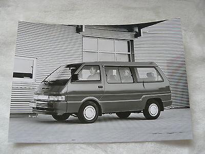 Presse Foto Werkfoto Press Photo 05.1991 n0005-2 Produkte Werden Ohne EinschräNkungen Verkauft Nissan Vanette Bus