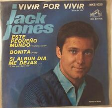 """JACK JONES LIVE FOR LIFE / PRETTY 7"""" MEXICAN EP PS"""