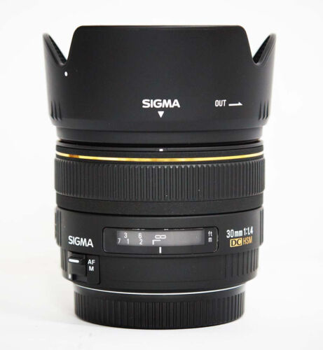 1 of 1 - Used Sigma EX 30mm f/1.4 DC EX HSM Lens for Canon