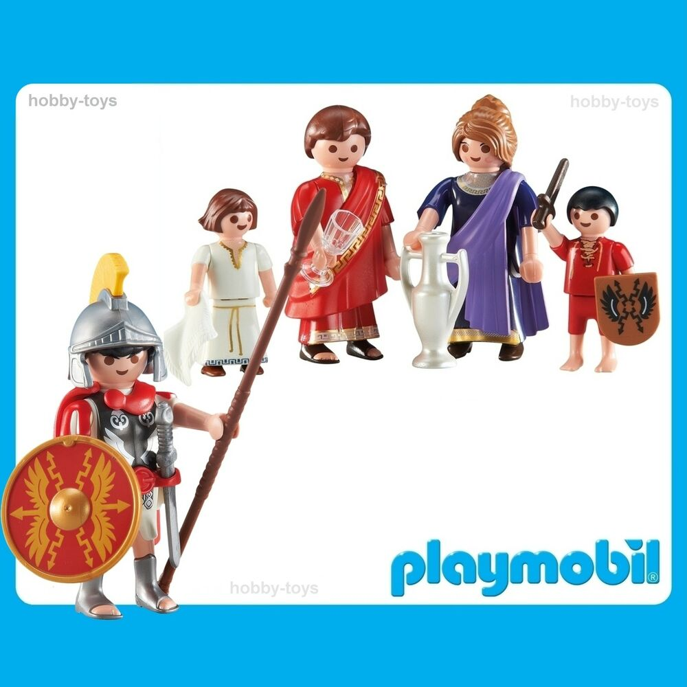 * Playmobil Histoire Romains * Roman Tribune & Family * Neuf Scellé Dans Paquet *